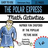 Polar Express 1st Grade Math Printables