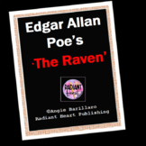 The Raven - Poe Worksheet/Mini assignment