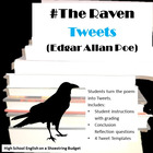 The Raven Tweets (Edgar Allan Poe) Activity