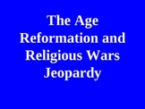 The Reformation and Religious Wars Jeopardy Review Game