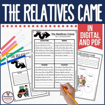 The Relatives Came Guided Reading Unit by Cynthia Rylant