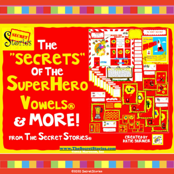 """The """"SECRETS"""" of the Superhero Vowels™ (from The Secret St"""