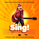 The SING CD: Music for teaching special education kids and