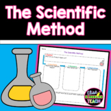 The Scientific Method:  FREE printable graphic organizer!