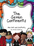The Seven Continents Mini Unit and Craftivity