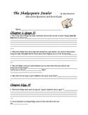The Shakespeare Stealer by Gary Blackwood Novel Unit & Stu