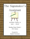 The Signmaker's Assistant Reading Street Grade 2 2011 & 20