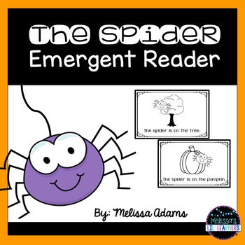 The Spider Emergent Reader