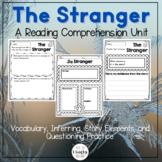 The Stranger by Chris Van Allsburg Reader Response Activit