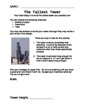 The Tallest Tower Scientific Process Lab