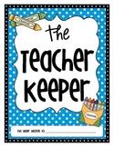 The Teacher Keeper {Organizational Binder with Polka Dots