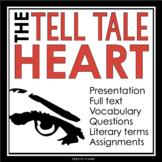 THE TELL-TALE HEART (Edgar Allan Poe): Short Story Present