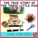 The True Story of The Three Little Pigs Lesson Plan and Ac