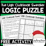 The Ugly Christmas Sweater Logic Puzzle {FREE}