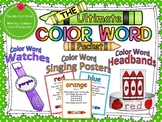 The Ultimate Color Word Packet
