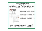 The Ultimate Math Mat Collection #1 on CD: Ten Packs #1, #2, #3