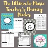 The Ultimate Music Teacher Organizer