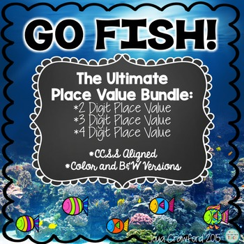 The Ultimate Place Value Go Fish Games Bundle