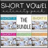 The Ultimate Short Vowel Bundle - Printables, Puzzles, Act