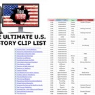 The Ultimate U.S. History YouTube Cliplist