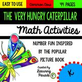 The Very Hungry Caterpillar: Kindergarten Math Activities