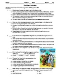 The Wizard of Oz Film (1939) 15-Question Multiple Choice Quiz
