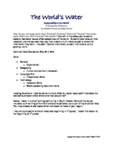 The World's Water: A Geography Webquest