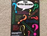 The Write Answer: Literature-Linked Activities to Develop
