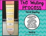 The Writing Process Pencil Display