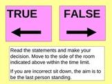The lungs true false game