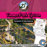 Theme Park Tycoon -- Variables, Expressions & Operations Project