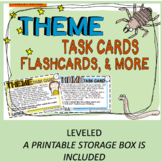 Theme Task Cards, Flashcards and More!