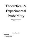Theoretical & Experimental Probability/Creating & Anaylzin