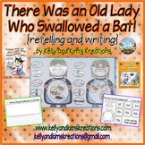 There Was an Old Lady Who Swallowed a Bat! {retelling and