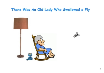 There Was an Old Lady Who Swallowed a Fly on the SMARTboard