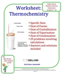 Thermochemistry Practice Problems