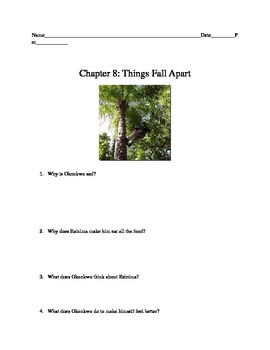 Things Fall Apart: Chapter 8 Comprehension Questions and a