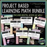 Thinker Task Bundle:  Differentiated, Open Ended Math Tasks