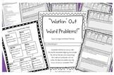 Third Grade Common Core Math Word Problems Workbook