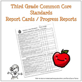 Third Grade Common Core Progress Report