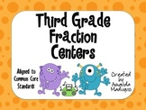Third Grade Fraction Centers
