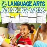 Third Grade Language Arts Morning Work for the Common Core