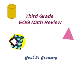 Third Grade Math EOG Review: Geometry and Coordinate Grids