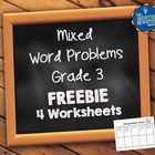 Word Problems Freebie