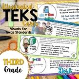 Third Grade TEKS - Illustrated and Organized!