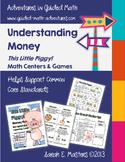 Money Games - This Little Piggy! -- Money Math Centers - C