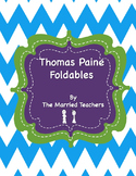 Thomas Paine Interactive Historical Figure Foldables