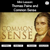 Thomas Paine and Common Sense (PPT)