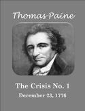 Thomas Paine's Crisis No. 1