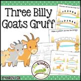 Three Billy Goats Gruff: Activity Pack {Pre-K, Preschool}